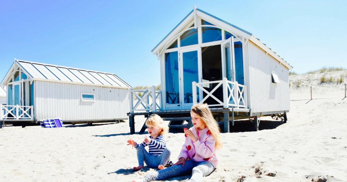 Vakantiethema Aan zee - Voorbeeldfoto Strandhuisje