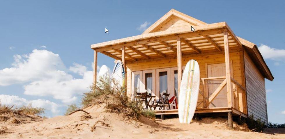 Bijzonder overnachten in een strandhuisje
